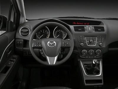 2011 Mazda5 Interior View