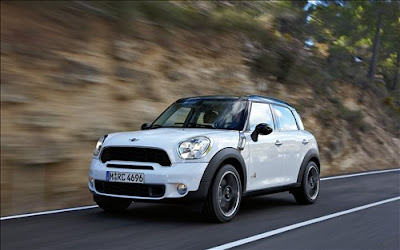2011 Mini Countryman Test Road