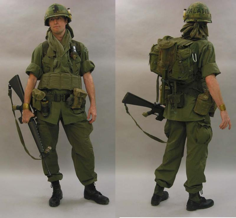 Army equipment of vietnam war