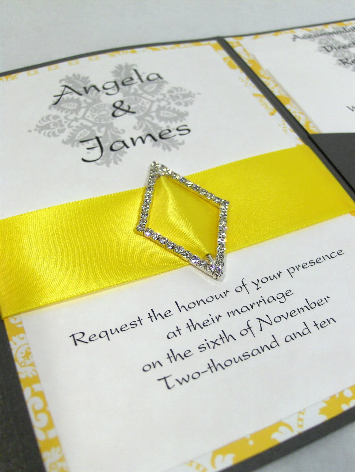 Wedding Wednesdays - Yellow and Silver! ~ Packaging Store