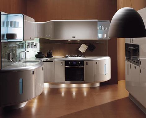 Luxury home interior design contemporary interior kitchen idea - Luxury homes interior kitchen ...