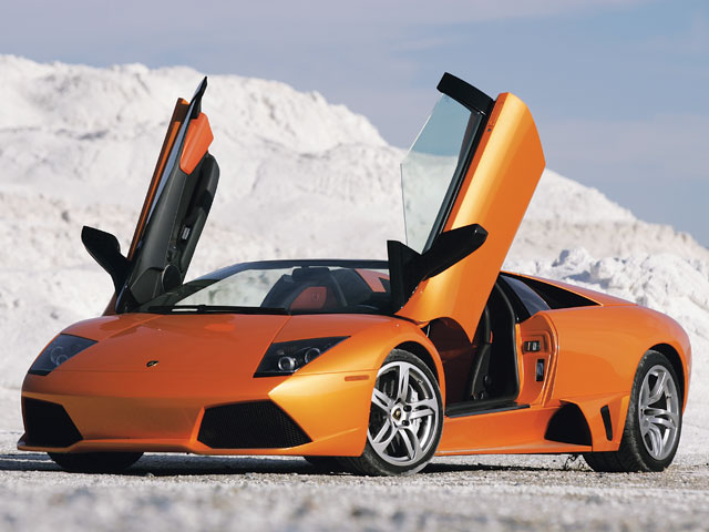 Wallpapers Lamborghini Murcielago LP640 Roadster