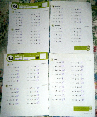 Kumon Answer Book Level B Math
