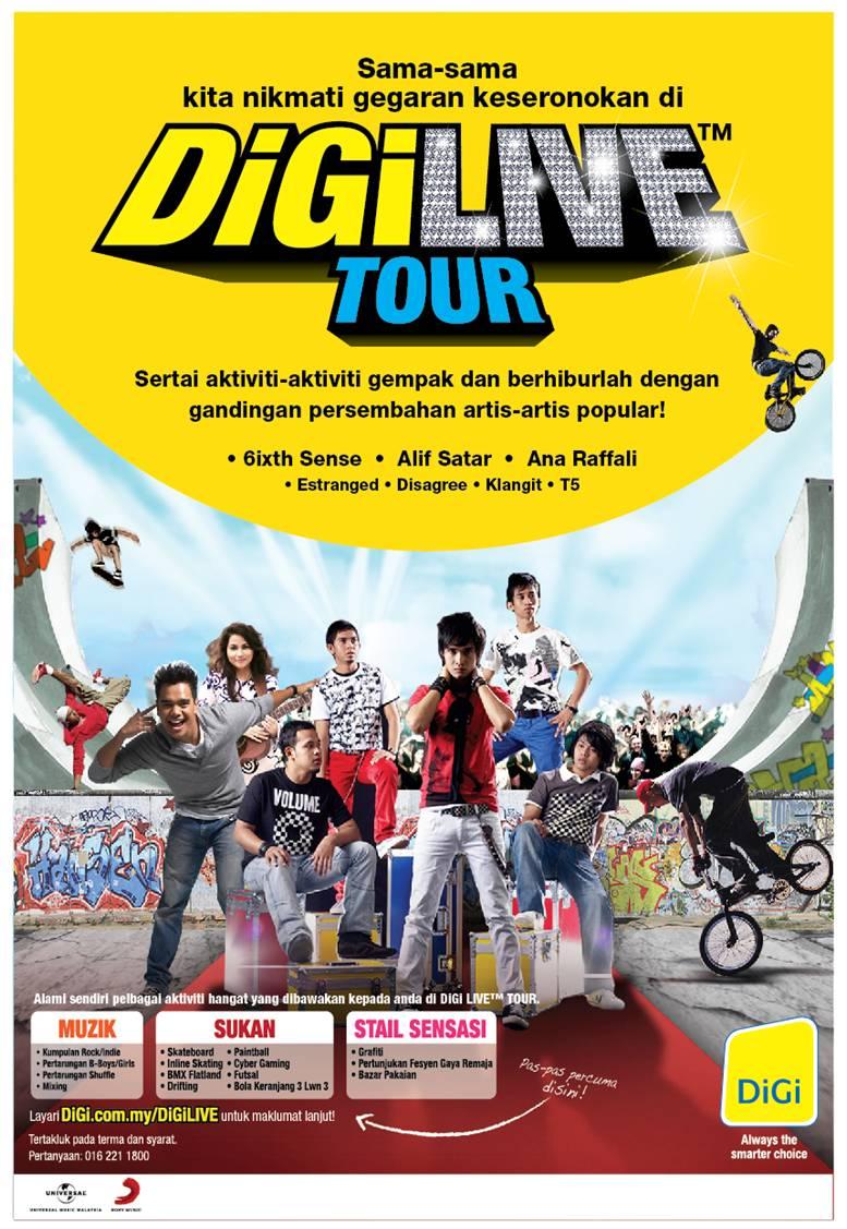 Digi tour dates in Brisbane