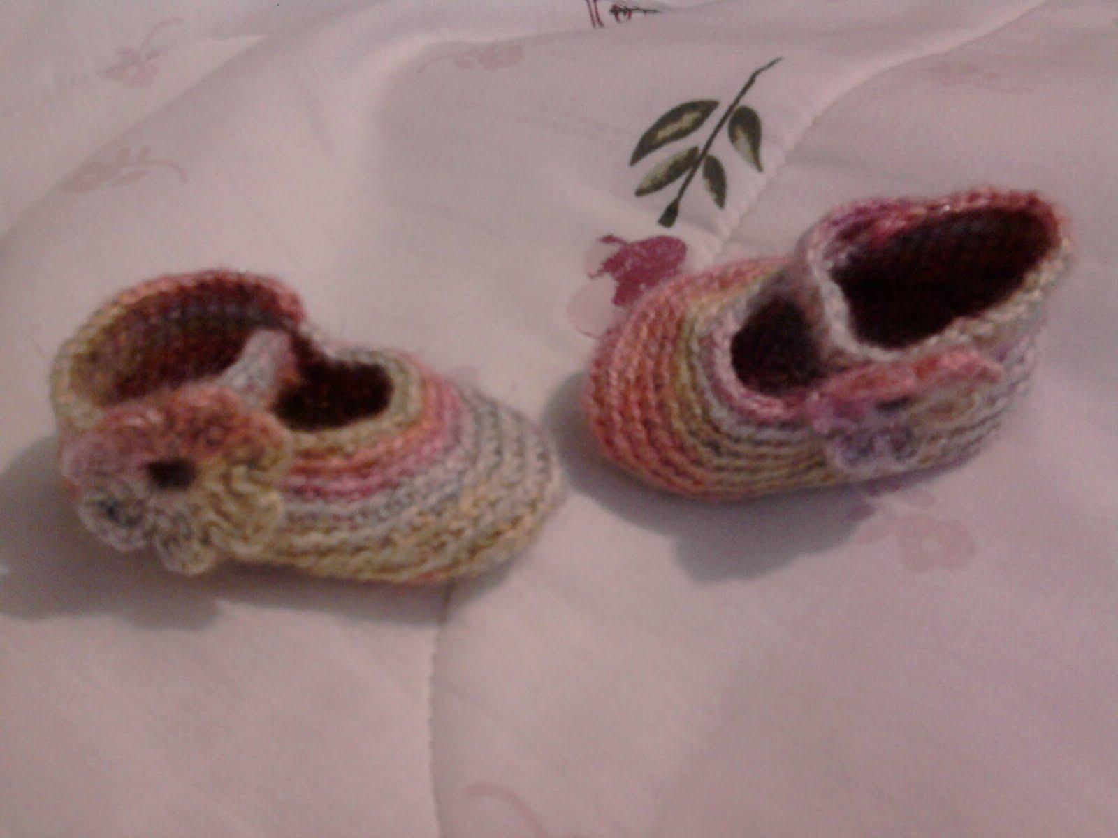Zapatucos, Zapatitos Tejidos gancho o Crochet