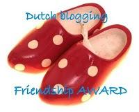 mijn eerste award gekregen van hilde (magnoliastempelfreak).