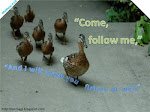 """Come, follow Me,"" Jesus said,"
