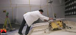 Checking Tilt of Lightweight Test Rover