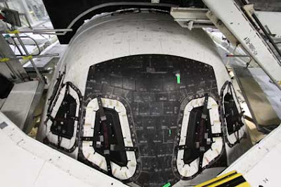 Thermal protection system on Endeavour