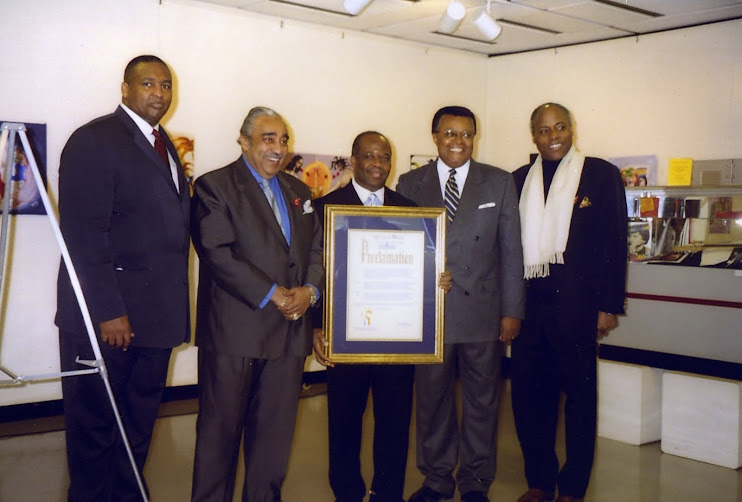 Proclamation - Fisk Jubilee Singers Day, New York City 2004