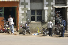 Ethiopia Bike Shop.
