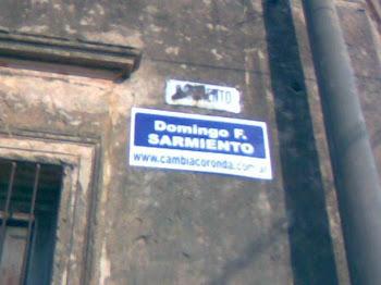 Cambia Coronda en las calles con nombres.