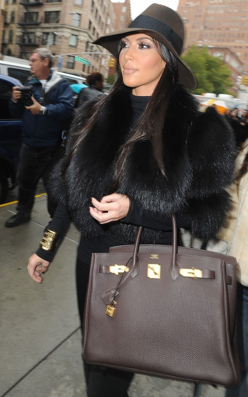 mohawks hairstyle19. Fashion Report: Kim Kardashian love hermes birkin bags