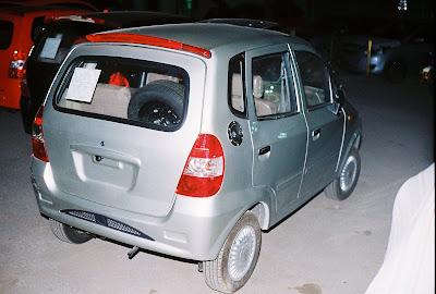 صورة سيارة نانو ايجيبت من الخلف