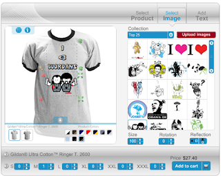 Create your own customizable online t shirt design for Custom t shirt software