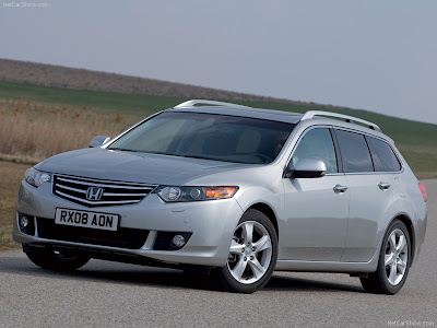 honda accord wallpaper. Honda Accord Tourer (2009)