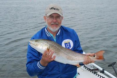 Royals fan with slot sized redfish