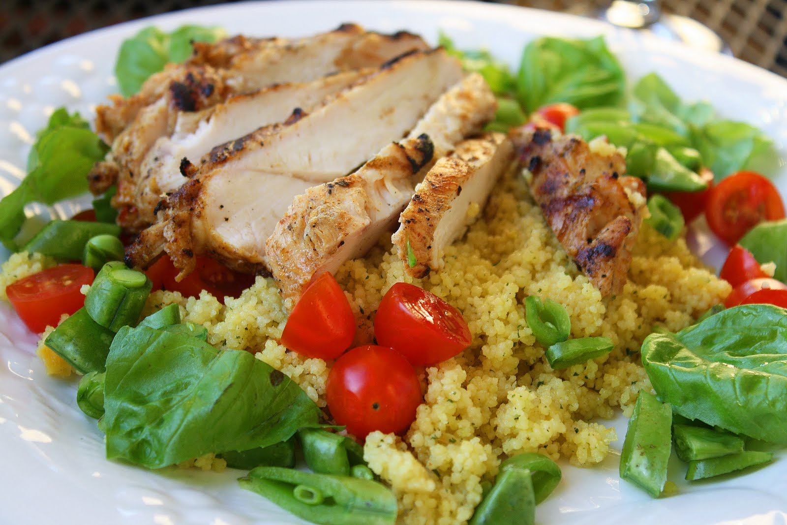 Spiced Chicken with Couscous Salad