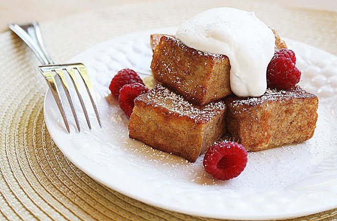 French Toast Bites