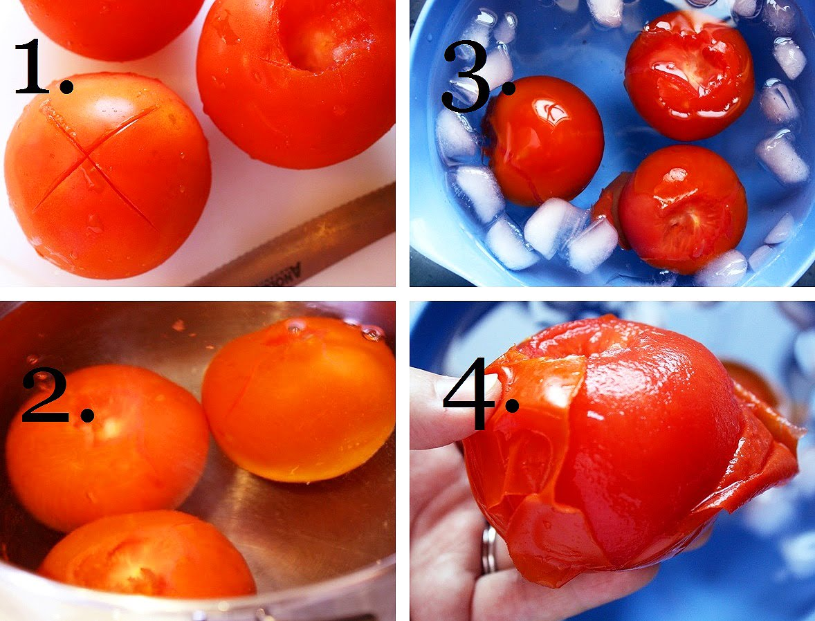 How to Quickly Peel a Tomato