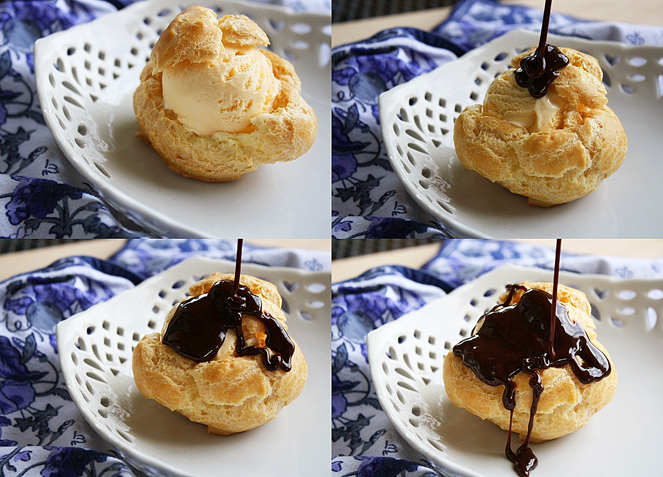 This was my first time making cream puffs, but that didn't keep me ...