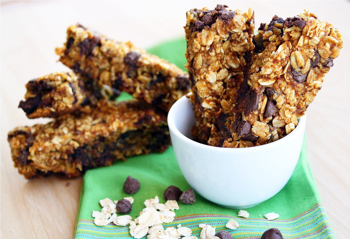 Easy Chewy Pumpkin Chocolate Chip Granola Bars Recipes — Dishmaps