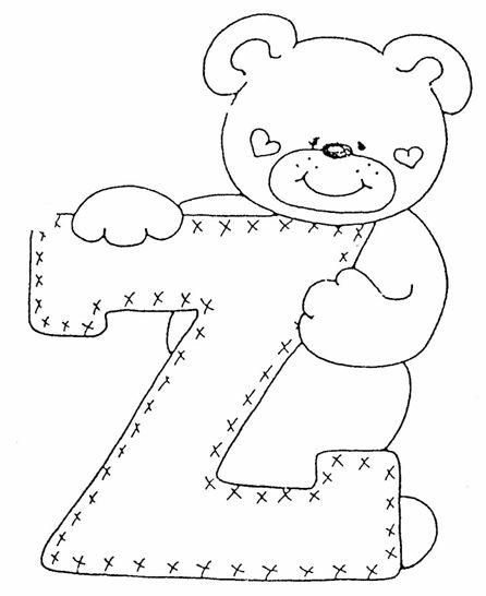 de ursinhos para pintar em fraldas de pano, bordar em roupinhas de