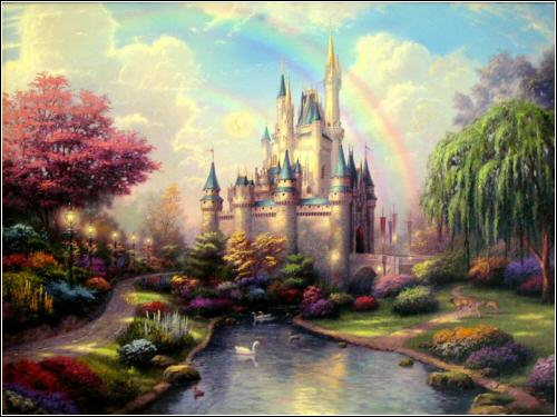 disney castle cartoon. magic kingdom castle suite. it