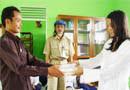 Pelatihan Penulisan Cerpen di Ponpes Darul Hijrah Putri Martapura Kab.Banjar