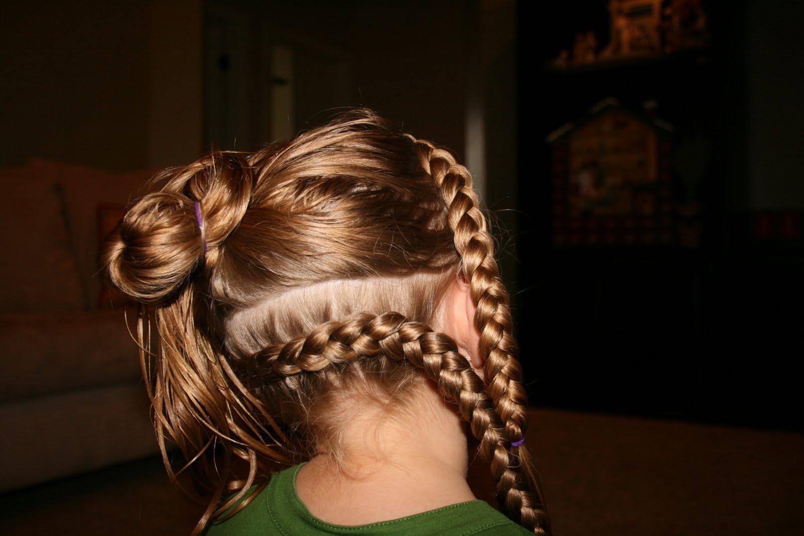 Причёски для девочек на длинные волосы. Фото №5