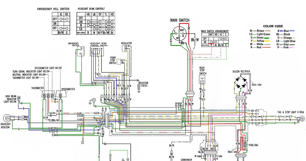 XL250color%2B Quad Wiring Diagram on hp evinrude, honda crf, for parva, yamaha it, yamaha ty, yamaha bravo,