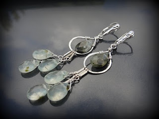 tutorial hammered earrings