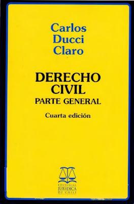 Derecho Civil Parte General por Carlos Ducci Claro