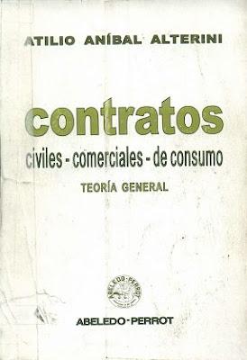 Contratos civiles - comerciales - de consumo