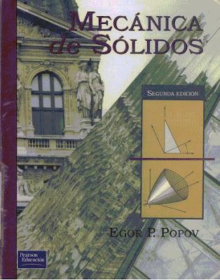 Mecánica de Sólidos por Egor P. Popov