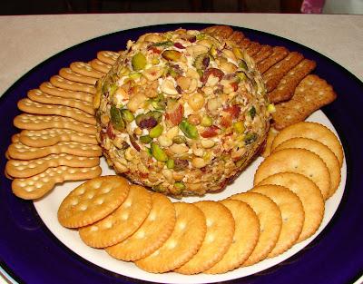 Sweet cheeseball recipe