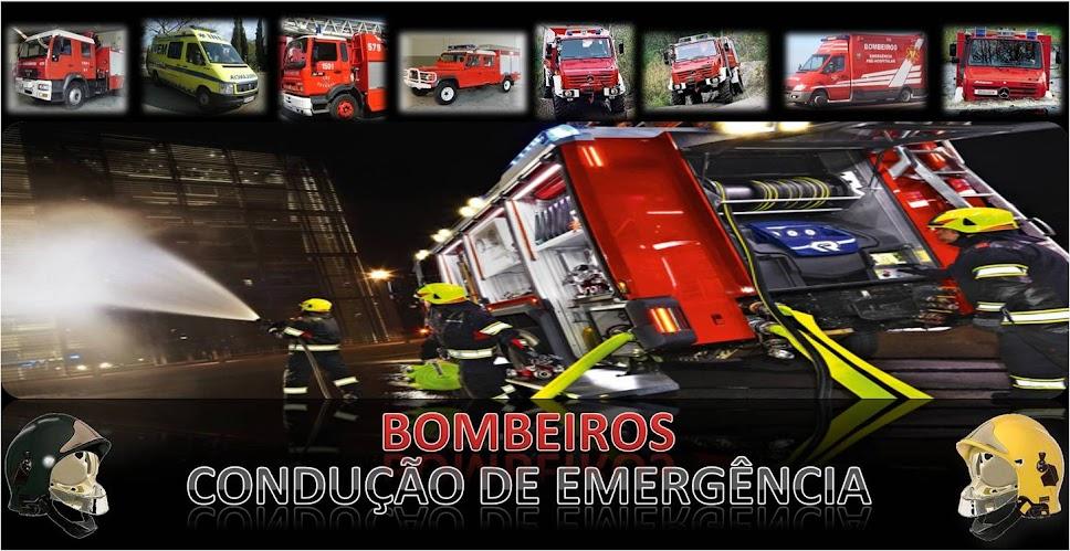 Bombeiros Condução Emergência