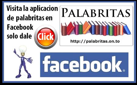 Regala Palabritas en Facebook