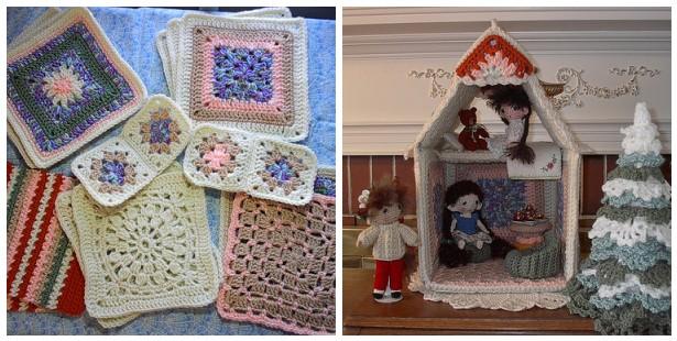Amigurumi doll house : By hook by hand: january 2011