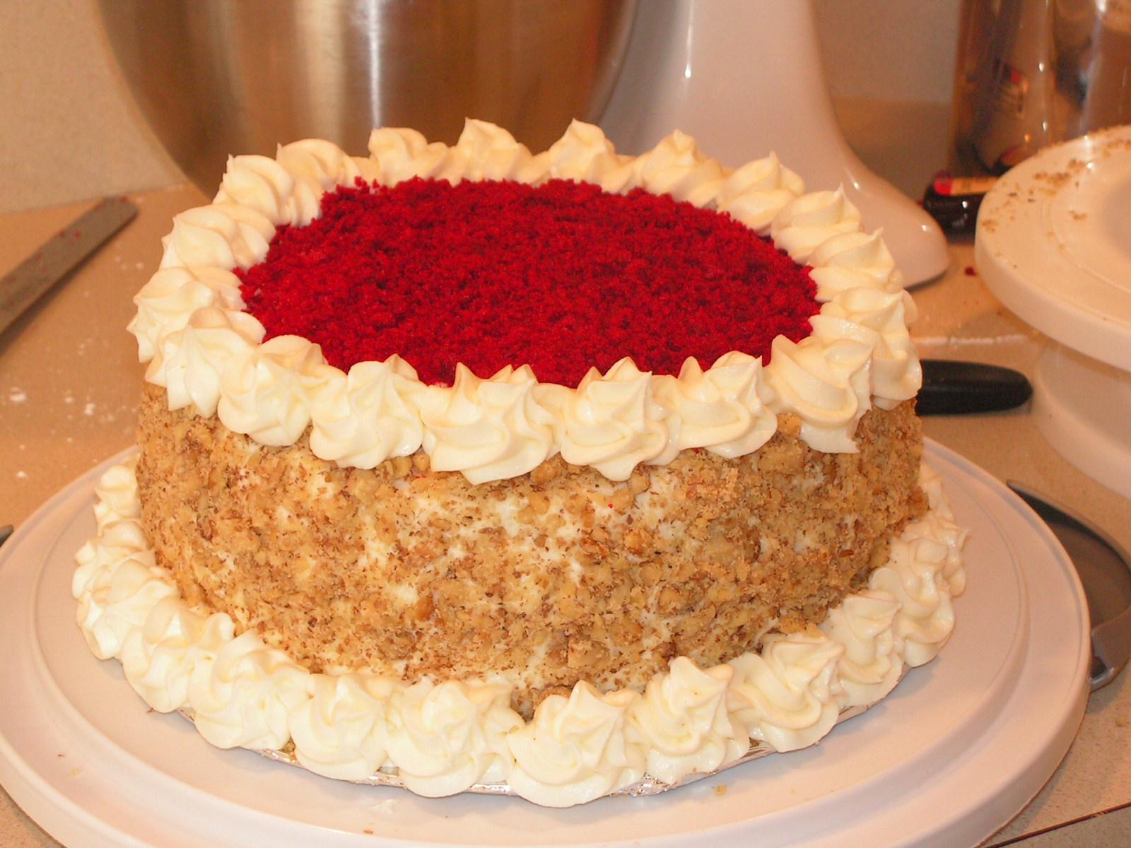 Willard Scott Red Velvet Cake