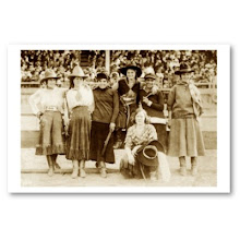 "FEBRUARY IS NATIONAL ""SPUNKY OLD COWGIRLS"" MONTH"