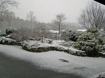 Homewood Nursery in winter snow