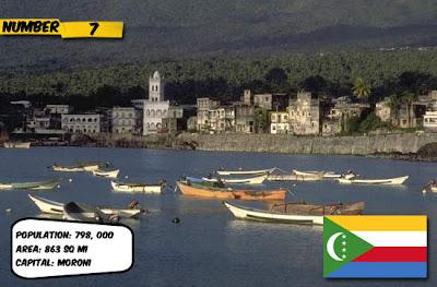Comoros 10 negara yang tidak diakui dunia