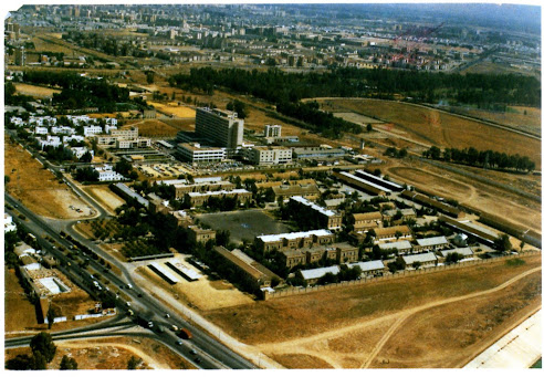 Vista aérea del RACA 14