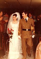 Sgto. Lozano el día de su boda (1979)
