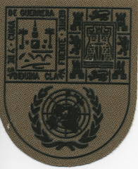 Distintivo de la Agrupación Córdoba, en el antebrazo del uniforme