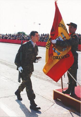 ¡ Y verlo jurar Bandera !