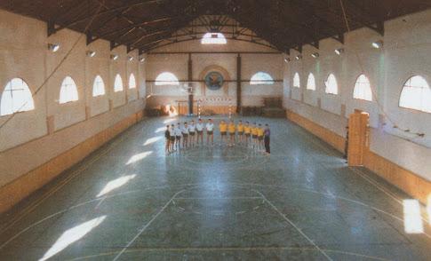 El antiguo Picadero, convertido en Gimnasio del Acuartemlamiento.