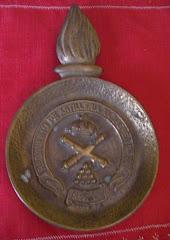 Cenicero en bronce del RAAA 74