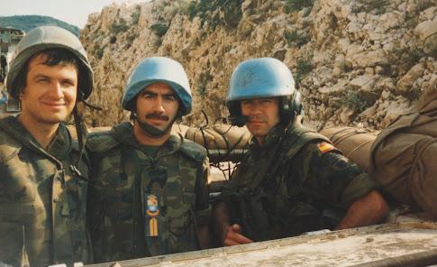 Patrullando por los alrededores de Mostar en un BMR.